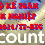 Hệ thống tài khoản kế toán 2015 theo TT 200/2014/TT-BTC