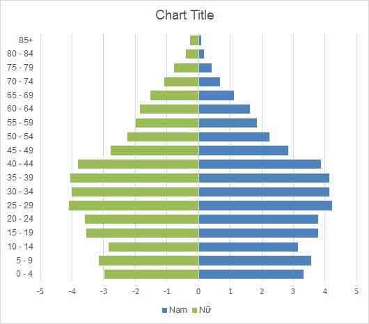 biểu đồ tháp dân số
